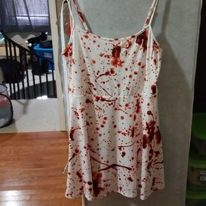 Blood spatter dress